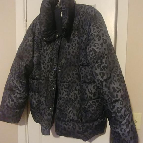 Old Navy Jackets & Blazers - leopard print winter coat
